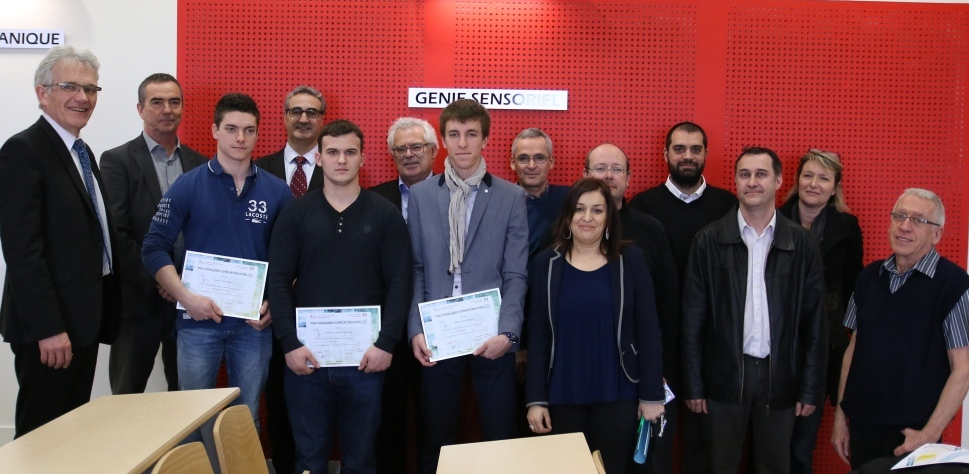 Projets industriels eleves ingenieur ENISE 2015_2016