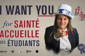 """Le Pôle Formation accueille """"Sainté accueille ses étudiants"""" 2016 !"""