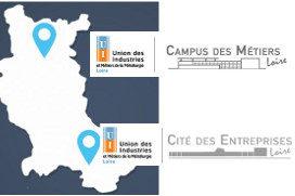 2 sites dans la Loire pour 11 diplômes en apprentissage