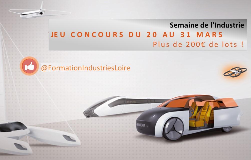Jeu concours 2 Pole Formation Loire Semaine Industrie 2017