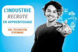 Offre de Contrat en Alternance Bac Pro Technicien d'usinage