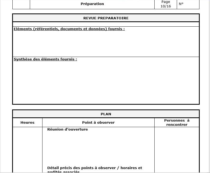 etude de cas audit interne pdf