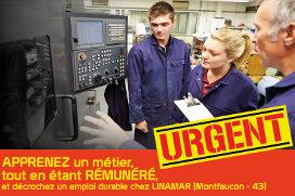 LINAMAR (43) recrute des opérateurs régleurs sur CN H/F
