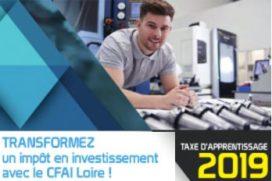 Taxe d'apprentissage  2019 : Investissez dans votre centre de formation partenaire !