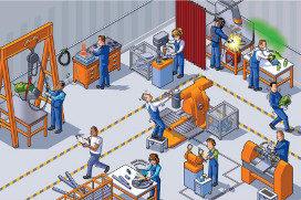 Formation des apprentis aux risques professionnels