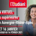 Salon Virtuel de l'Étudiant - 14,15 et 16 Janvier 2021