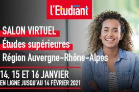 Salon Virtuel de l'Étudiant – 14,15 et 16 Janvier 2021