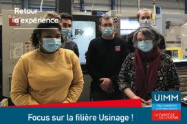 Focus sur la filière Usinage : retour d'expérience !