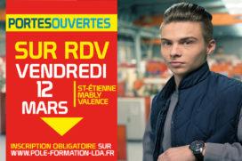 Portes Ouvertes sur RDV Vendredi 12 Mars 2021